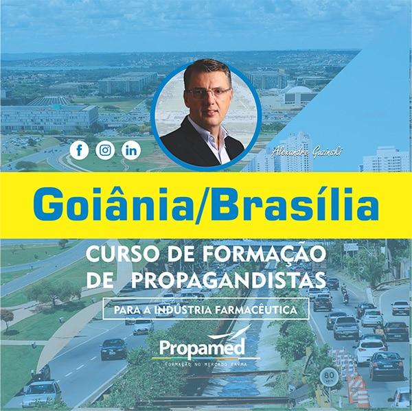 Curso de Formação de Propagandista - Goiânia/GO