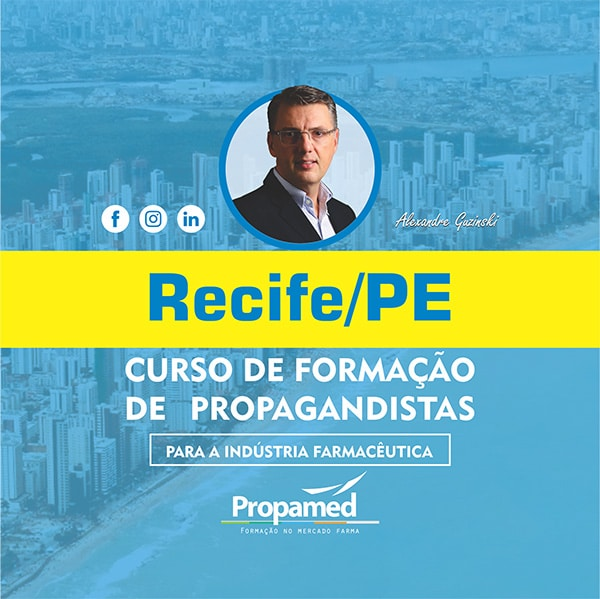 Curso de Formação de Propagandistas - Recife/PE