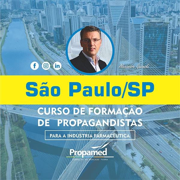 Curso de Formação de Propagandista - Campinas/SP