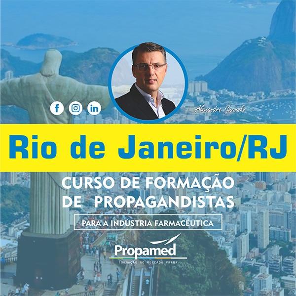 Curso de Formação de Propagandista - Rio de Janeiro/RJ