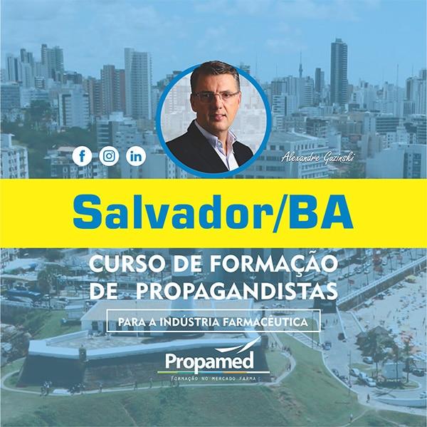 Curso de Formação de Propagandista - Salvador/BA - Propamed